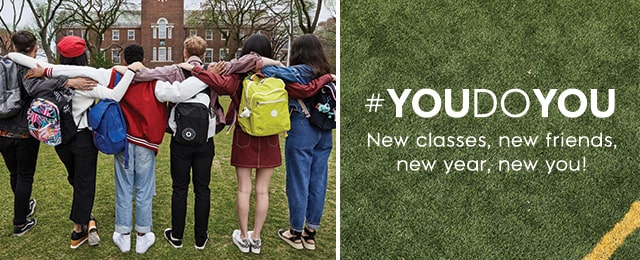 #YOUDOYOU New Classes, new friends, new year, new you!