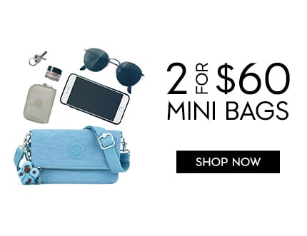 2 for $60 MINI BAGS