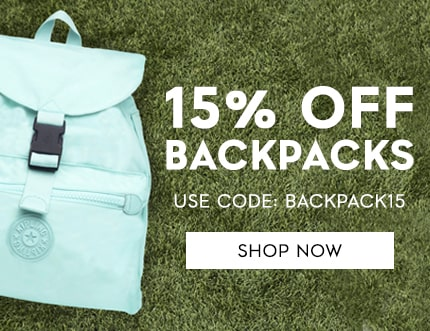 15% off backpacks Use Code: BACKPACK15