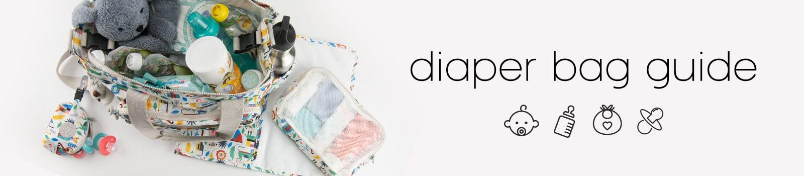 Diaper bag hero banner