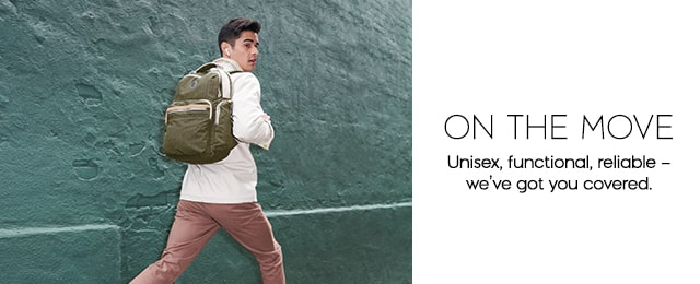 ON THE MOVE Unisex, functional, reliable - we've got you covered