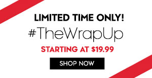 Limited Time only! $TheWrapUp: starting at $19.99