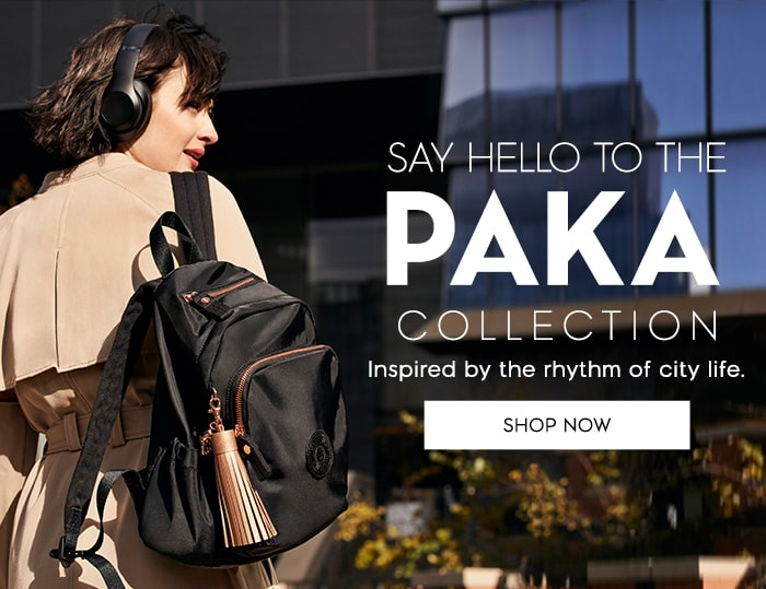 Say hello to the paka collection inspired by the rythm of city life