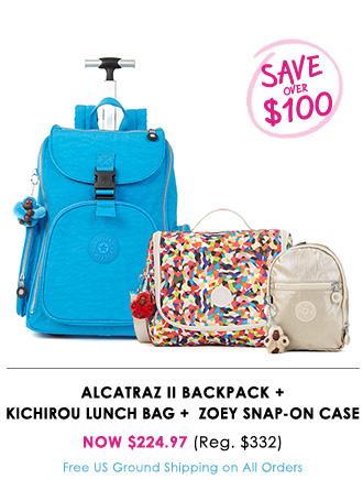 Alcatraz + Kichirou + Zoey