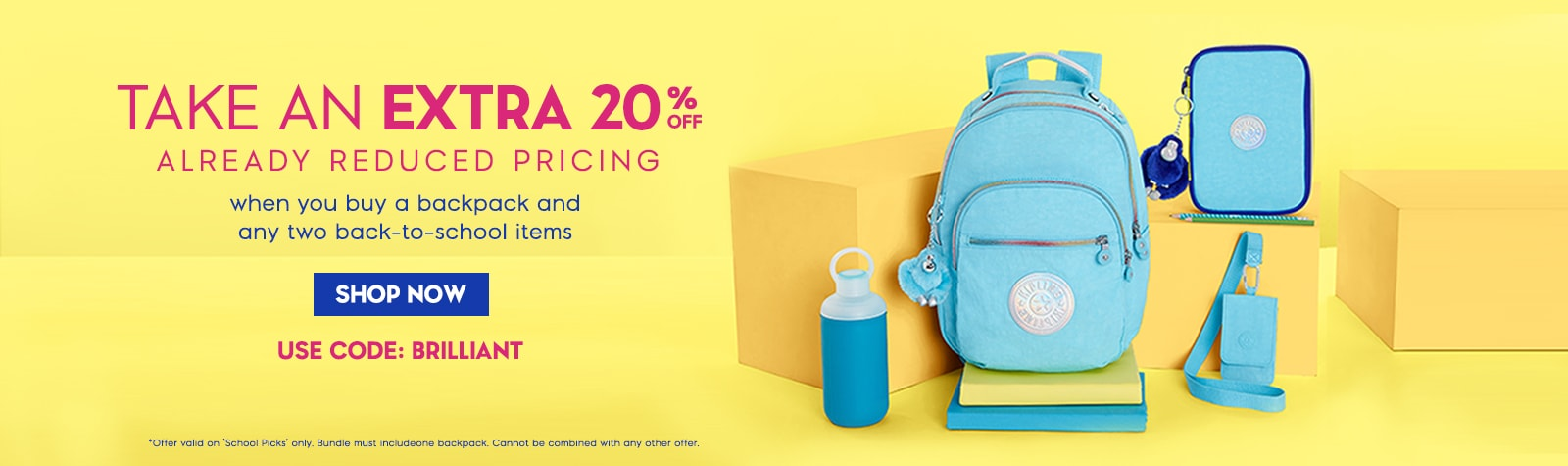 Take An Extra 20% off Already Reduced Pricing