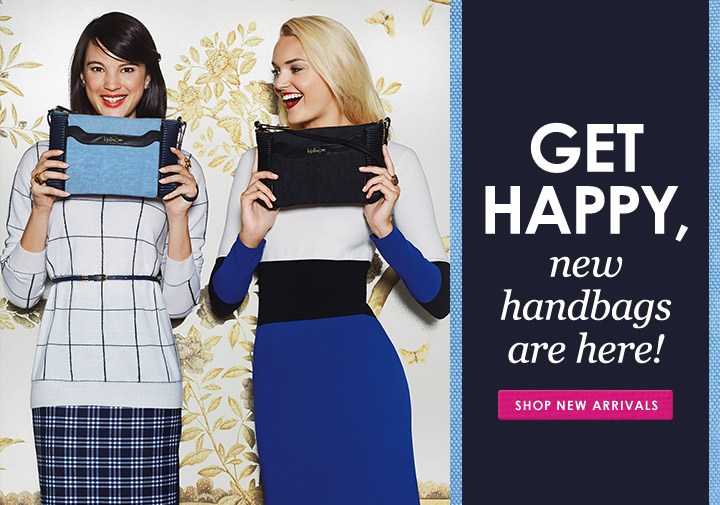 Get Happy, new handbags are here!
