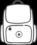 Diaper bags icon
