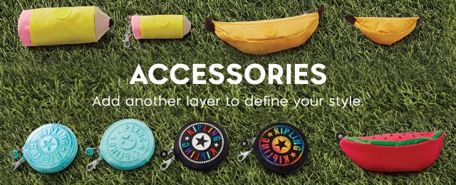 Accessories Add another layer to define your style