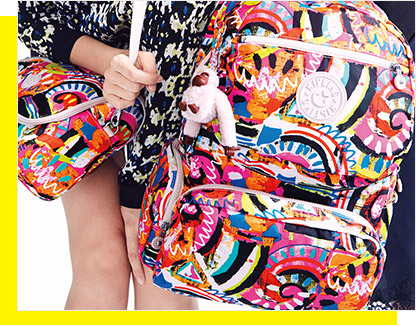 Bold new backpacks