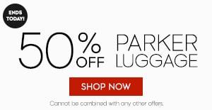 50% 0ff parker