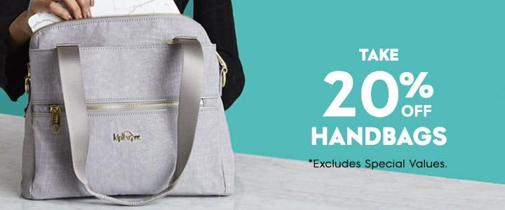 Handbags header