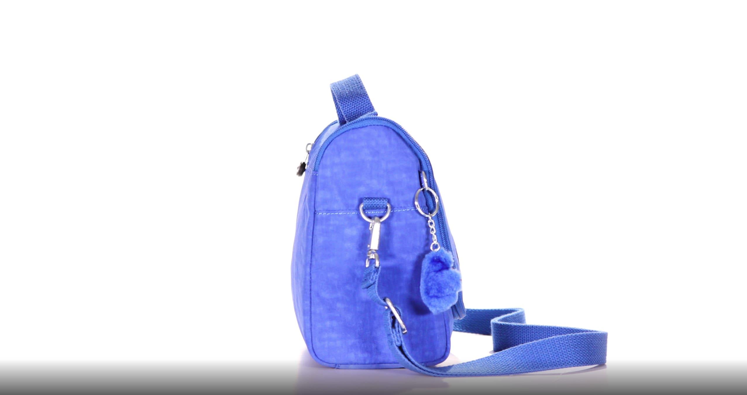 Boys Girls Backpack Rucksack Travel School Work Bag Crazy Smile Blue Black