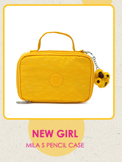 New Girl.  Mila S Pencil Case.