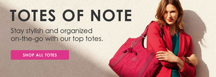 Totes of Note. Stay stylish and organized on-the-go with our top totes.