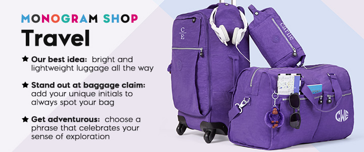 Shop Monogram Luggage