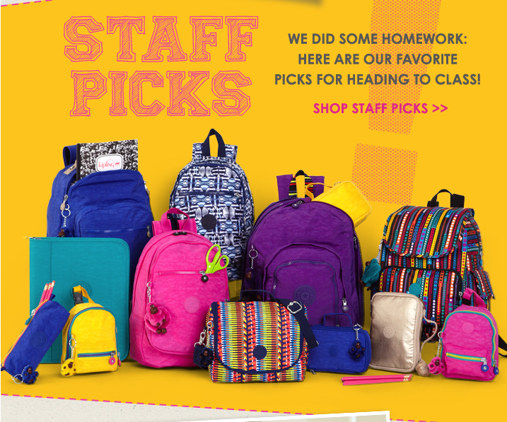 Staff Picks.  We did some homework:  here are our favorite picks for heading to class!  Shop staff picks.