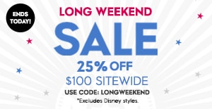 Ends Today 25% OFF