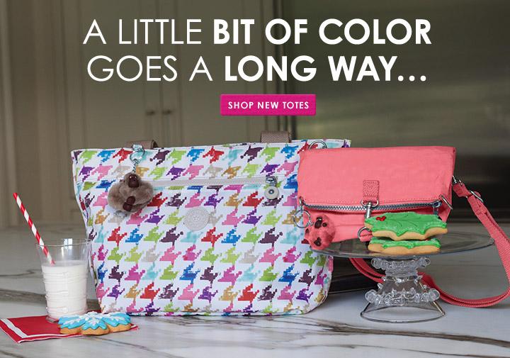 A little bit of color goes a long way