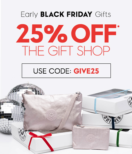 25% off the gift shop  USe CODE: GIVE25