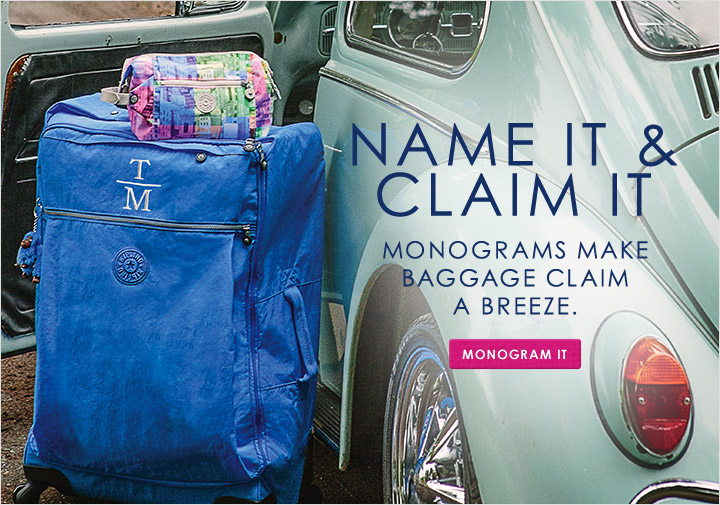 Monogram Luggage