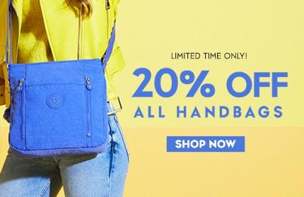20% of Handbags