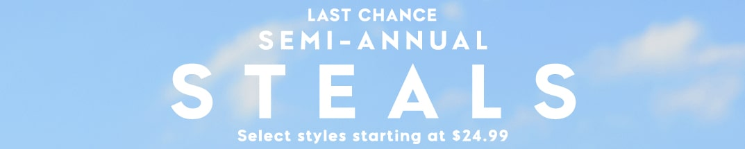 last chance semi annual steals