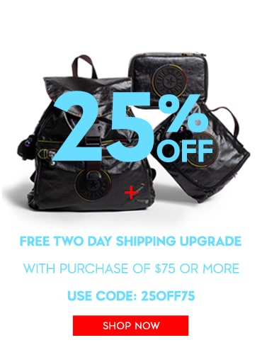 25% OFF + free 2 day shipping with a purchase of 75$+